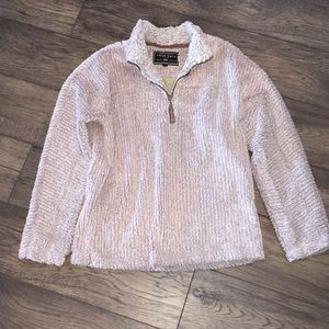 True Grit Frosty Cord Pile M Oatmeal pullover